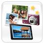 Your photo album and favorite ecards