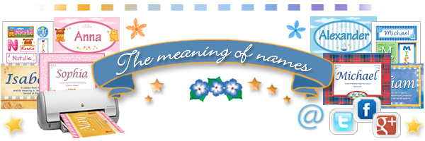 Meaning of names
