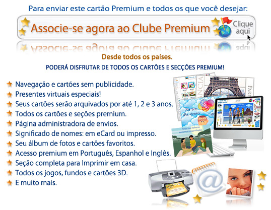 Tarjetas y postales virtuales especiales para enviar o imprimir